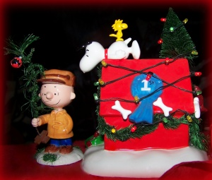 Poor little Charlie Brown's Christmas Tree.