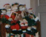 The Christmas Rabbit Family