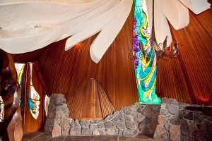 Inside the Sea Ranch Chapel