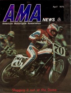 #70 Mark Williams - Cover of AMA news